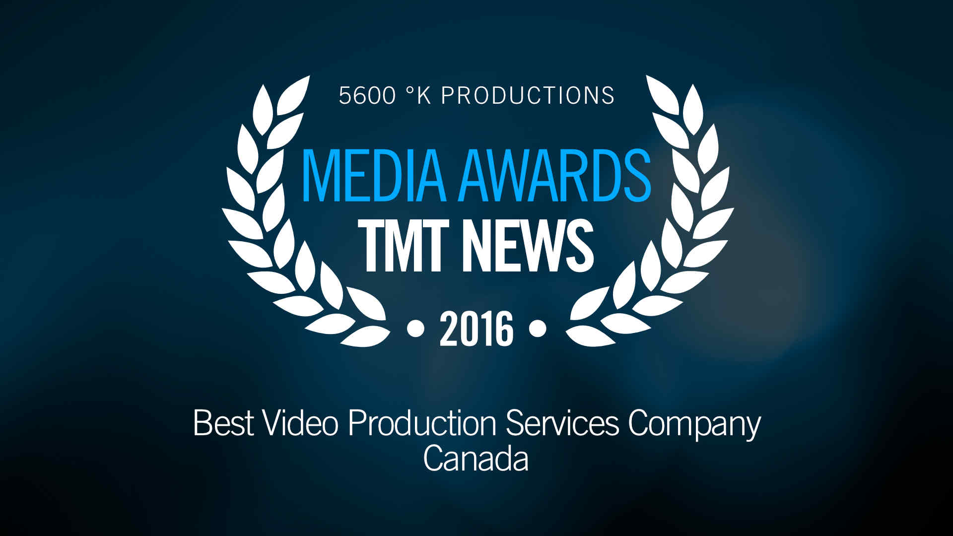 TMT News Media Awards 2016