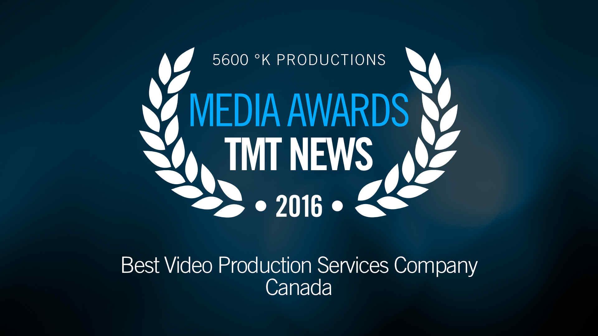 TMT News Media Awards 2016