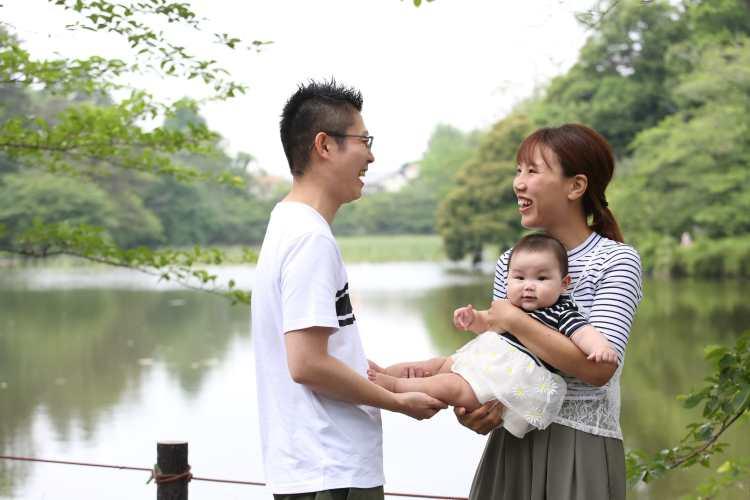 こむの木撮影会大宮公園家族写真