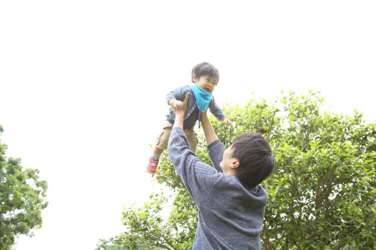 武蔵国分寺公園家族写真