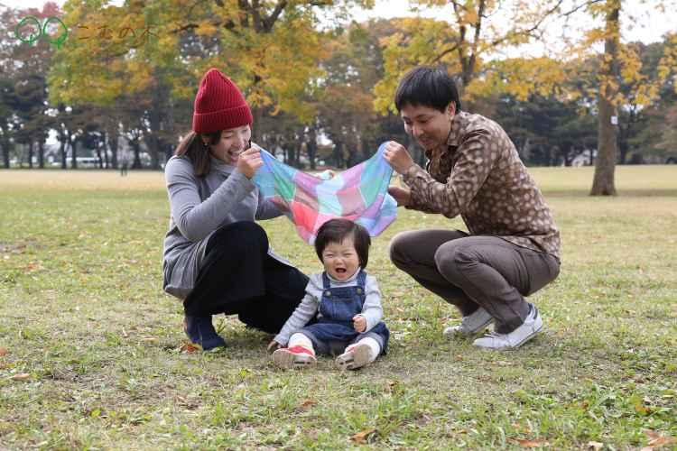 こむの木小金井公園家族写真