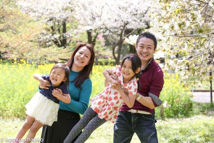 小金井公園家族写真