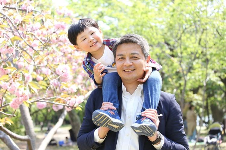 舞鶴公園家族写真