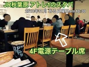 akihabara atle1 starbucks
