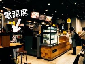 東京駅改札内のファイブクロスティーズコーヒーの店内