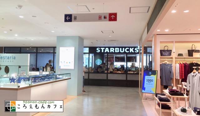 スターバックスコーヒー錦糸町パルコ店の外観