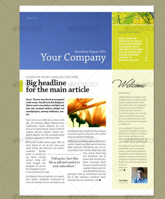 newsletter templates indesign adobe jobs newsletter templates free