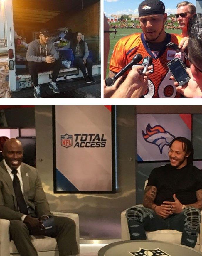 Follow Shane Ray, #56 Denver Broncos