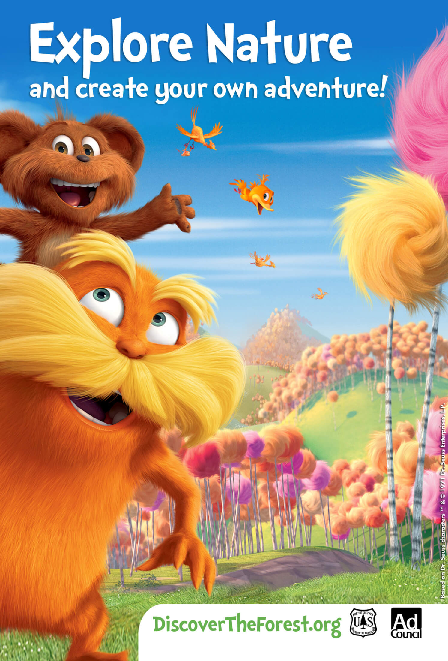 The Lorax Psa Encourages Kids To Enjoy The Outdoors