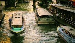 Famous Bangkok River Boats!