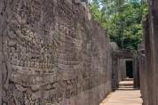 Bayon - Khmer Life Bas Relief