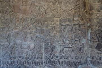 Mahabharata Bas Relief - Kurukshetra Battle