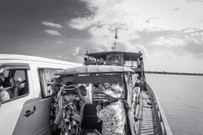 Ferry on the Mekong River