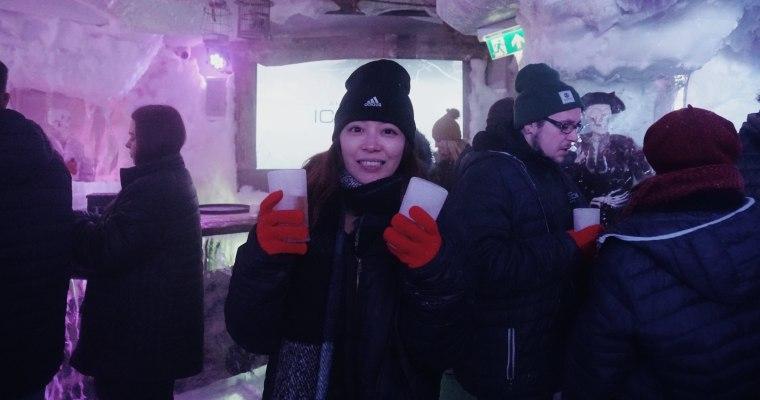 荷蘭體驗|ICEBAR,在零下冰窖裡的極凍酒吧狂歡