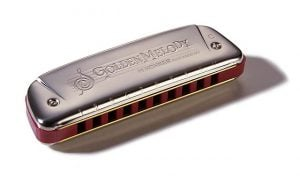 Hohner Golden Melody Harp