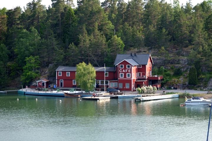 58 Grad Nord - Ohne eigenem Boot in die schwedischen Schären - Sankt Anna Gården