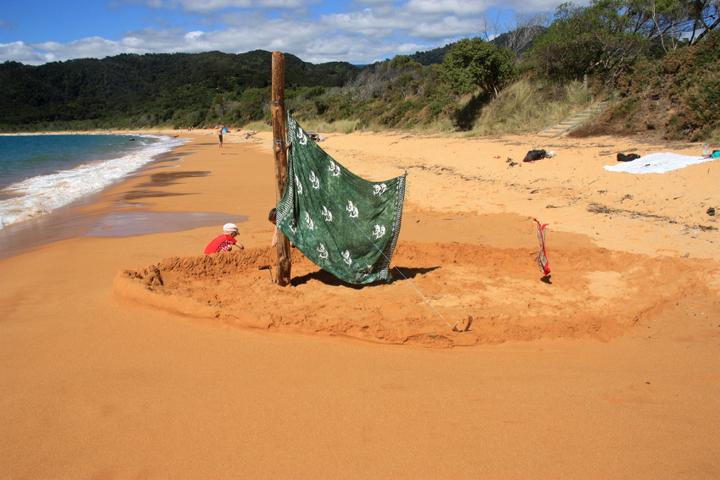 58GradNord - Elternzeit in Neuseeland - Strand Totaranui