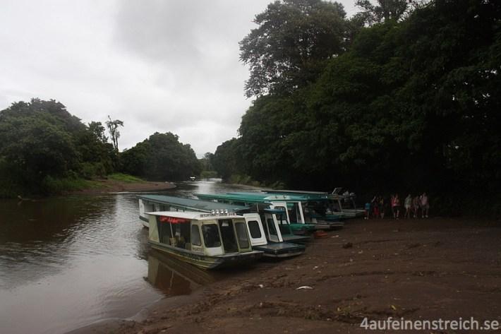 Wassertaxi Tortuguero Nationalpark