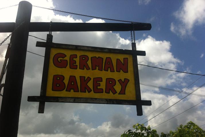 Die 'German Bakery' in Costa Rica