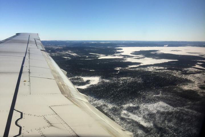 58 Grad Nord - Kungsleden im Winter - Die Weite Norschschedens von oben