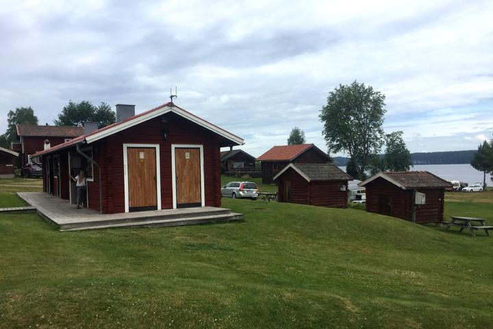 58 Grad Nord - Roadtrip Nordschweden - Campingplatz