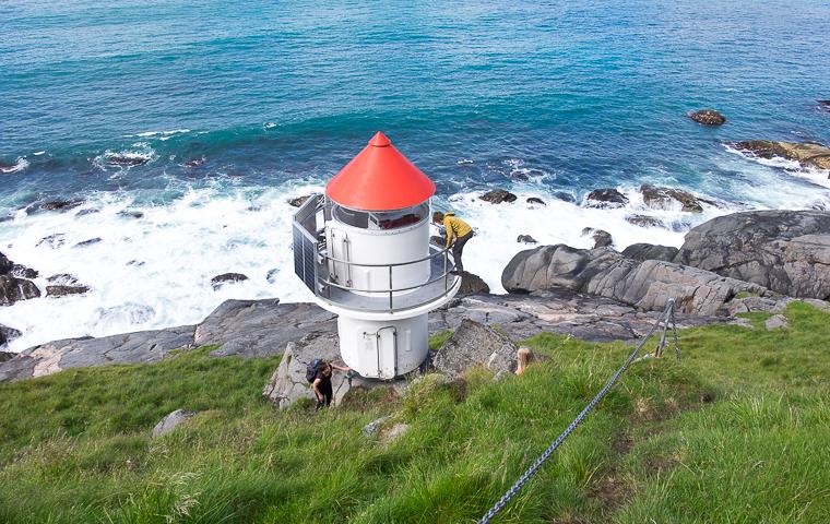 58GradNord - Mit Kindern wandern Nordnorwegen Lofoten - Eggum Leuchtturm