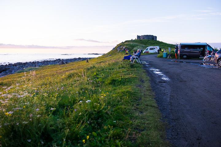 Norwegen mit Kindern - Lofoten Roadtrip - Mitternachtssonne