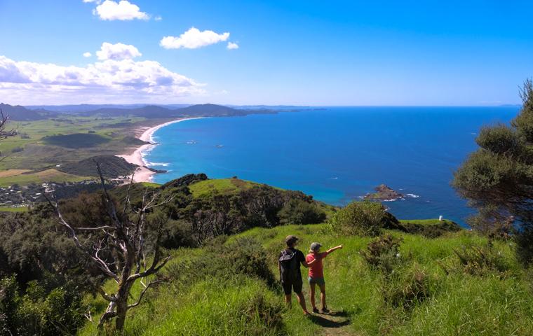 58 Grad Nord - Familienauszeit Neuseeland - Whangarei - Ocean Beach