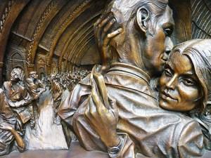 St Pancras Sculpture