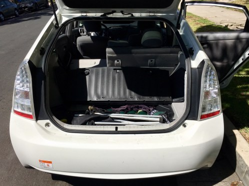 Prius Storage Space