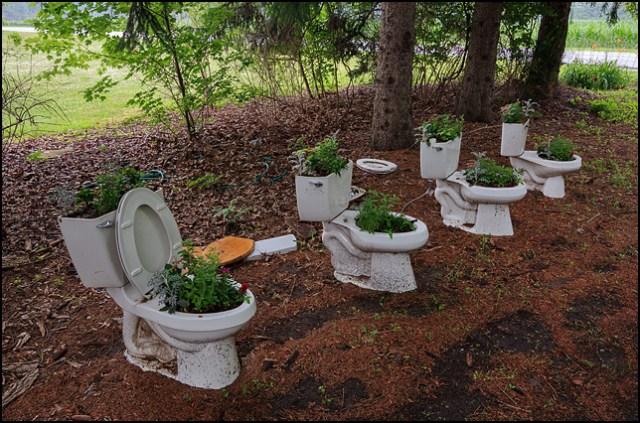 Garden Toilets