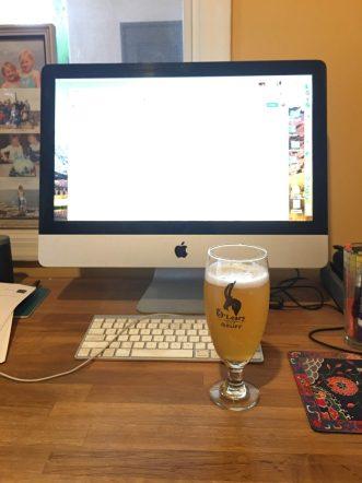 Grateful for beer