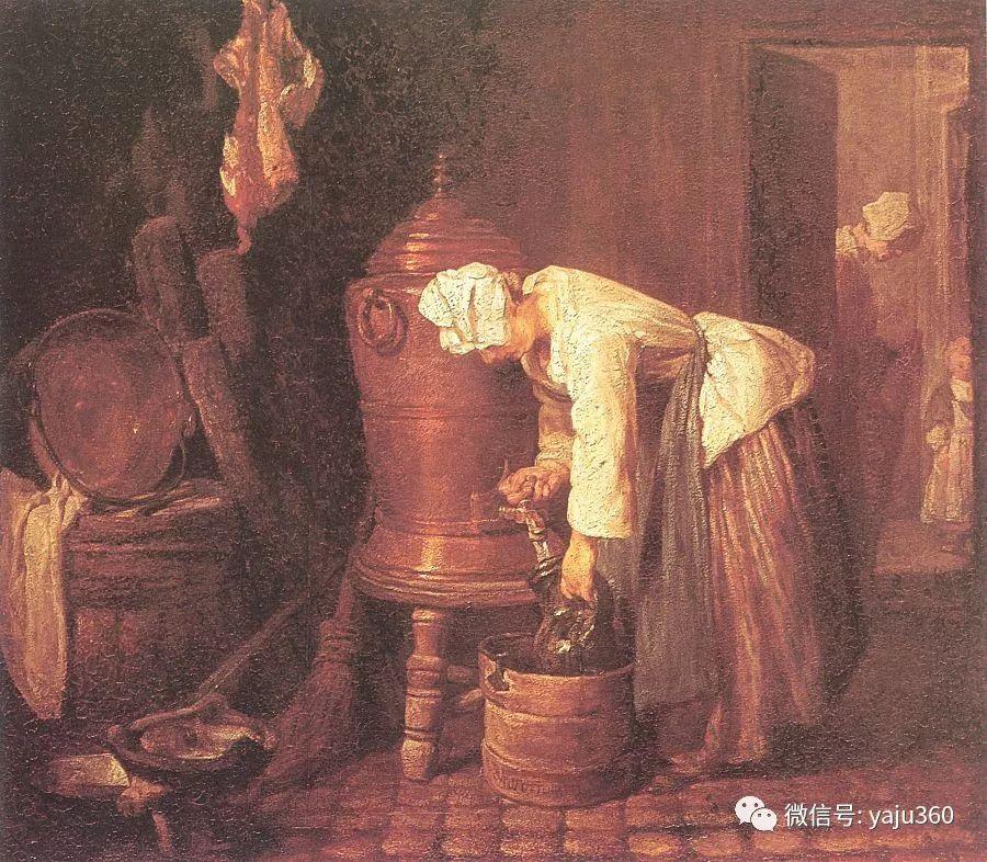 静物画巨匠 法国画家夏尔丹-雪花新闻