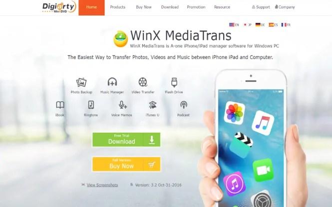 WinX Media Trans 7.0 + Crack [Latest Version]