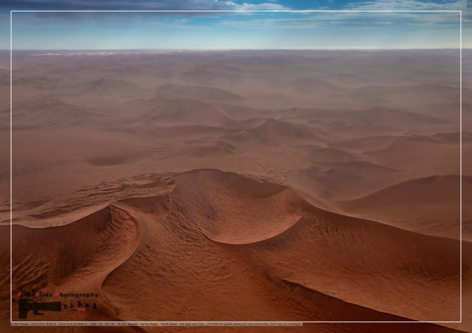 Aerial picture of the landscape of the Namib Desert in western Namibia