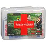 Johnson & Johnson Cross All-Purpose First Aid Kit, 140