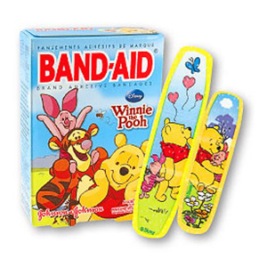 Band-Aid Children's Adhesive Bandages Winnie the Pooh Assorted, 20 ea