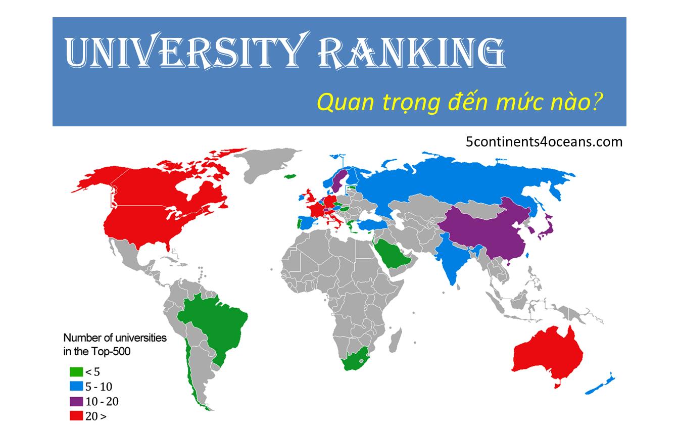 Thứ hạng (ranking) của một trường đại học có quan trọng?