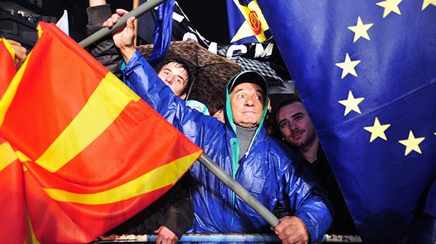Напрежение преди изборите в Македония