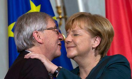 Юнкер препотвърдил подкрепата на Меркел за шеф на ЕК