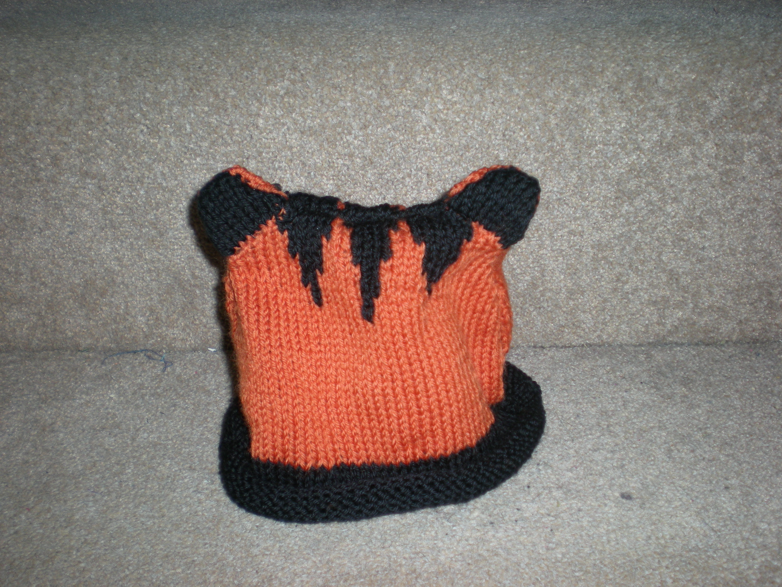 Tiger Hat, no feet