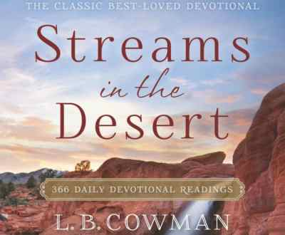 Streams in the Desert Devotional 1st December 2020 – Devil's Burden