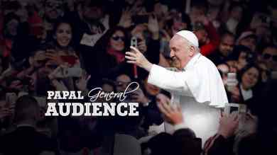 Wednesday 20th January 2021 Mass with Pope Francis (General Audience)