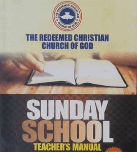 RCCG Sunday School Teacher Manual 13th June 2021 Lesson 41