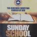 Lesson 51: RCCG Sunday School Teachers Manual 22 August 2021