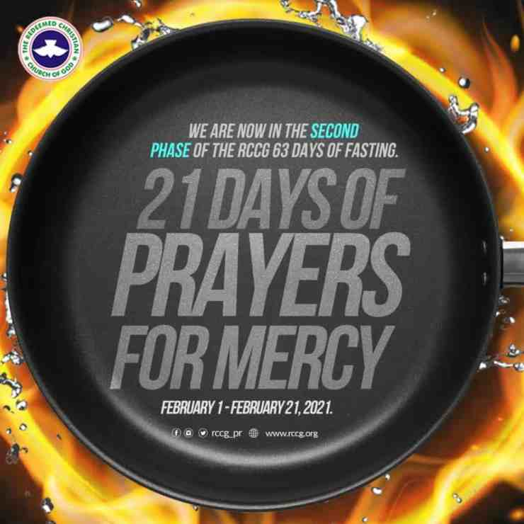 RCCG 21st February 2021 Fasting And Prayer Points Day 21, RCCG 21st February 2021 Fasting And Prayer Points Day 21, Premium News24