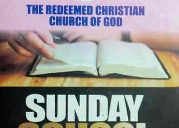 RCCG Sunday School Student Manual 10 October 2021 Lesson 6