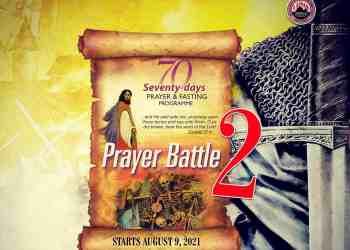 MFM 70 Days Fasting 22 September 2021 Day 45