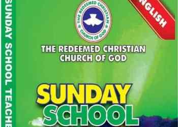 RCCG Sunday School Manual 3 October 2021 for Teachers