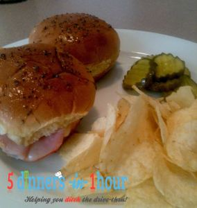 ham cheese sliders